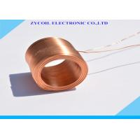 Cheap Gold Cylindrical Air-core Coil Inductor Dia 1.2mm For High Frequency for sale