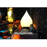 Cheap Inflatable Light Cone with Light for Party and Wedding Night Decoration for sale