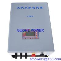 China Solar pump inverter  7.5kw on sale