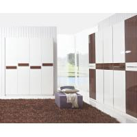 Best Hotel Interior Design by project Furniture in-wall Wardrobe cabinet high glossy melamine wholesale