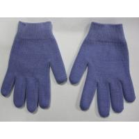 Best Youth Gel Moisturizing Gloves Spa Gel Filled Blue Cotton Gloves For Moisturizing Hands wholesale