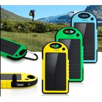 Best 4000mah Dual USB Solar Power Bank Charger External Battery Pack wholesale