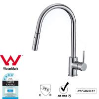 Best Cupc Lead Free Brass Sink Pull out Mixer Tap 360 Swivel No Corrosion wholesale