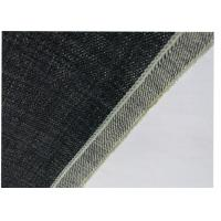 Best Self Edge Natural Denim Fabric , Pants Purple Denim Fabric Textiles Material wholesale