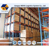 Best Q235 Material Drive In Racking System , Load Capacity  500 - 5000kg / layer wholesale