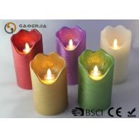 Best Double Light Moving Flame Led Candles For Home Decoration 15.5 / 17.8cm wholesale