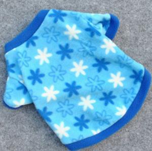 Best Snowflake Fleece Dog Pet Apparel Clothes T Shirts XXX Small Dog Clothes wholesale
