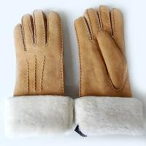 Best wholesale winter sheepskin double face leather gloves long wholesale
