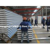 Best Corrugated Steel Roofing Sheet Metal Roofing Sheets Sandwich Panel EPS PU Rock Wool wholesale