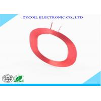 Best Red Toroid Qi Mobile Transmitter Inductive Charging Coil For Smart Phone wholesale