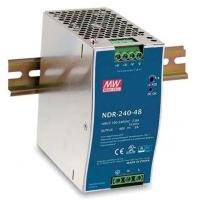 Best 75W 48VDC 1.6A Enclosed Power Supply Class II 70mm Width AC/DC EDR-75-48 wholesale