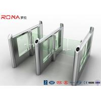 Best Stainless Steel Fingerprints Turnstile Entrance Gates Simple Appearance High Speed wholesale