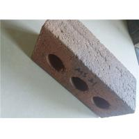 Best High Strength Perforated Clay Bricks Rough Surface 210x100x65mm wholesale