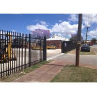 Buy cheap Garrison Tubular Fence 1800mm x 2400mm stain black powder from wholesalers