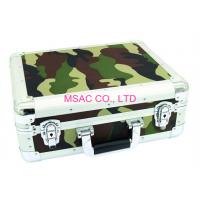 Waterproof Aluminum DVD Storage Case With Dividers Inside 3.8mm Thickness Colorful PVC Panel