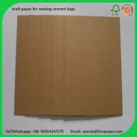Best BMPAPER Close to korea PE coated virgin white front kraft paper liner for cement bags wholesale