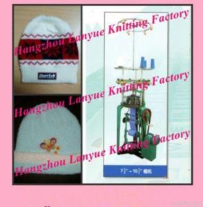 China Automatic Seamless Hat Knitting Machine on sale