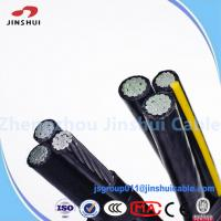 Cheap High Voltage Power Transmission Cable , 0.6 / 1KV Aerial Bunched Conductor ASTM B-232 for sale