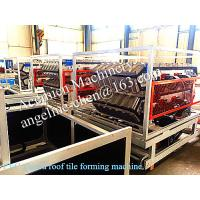 Best New type popular roofing tile roofing sheet roofing material manufacturing machinery wholesale