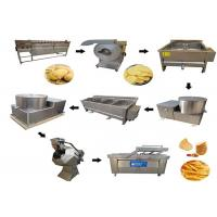Buy cheap 500kg/H Capacity Automatic Potato Chips Making Machine Banana Crisp Making from wholesalers