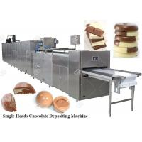 Best Fully Automatic Chocolate Depositing Machine Moulding Production Line Price China wholesale