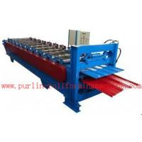 Best Waterproof Corrugated Roof Tile Roll Forming Machine for Factory , Warehouse , Garage wholesale