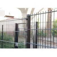 Best Sunshine Proof Double Wire Mesh Fence 1.83 X 2.2 Meter With Round OD38MM Post wholesale