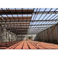 China Prefabricated Industrial Steel Structure Warehouse Gable Frame Light Metal Building on sale