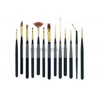 Best 13Pcs Mini Body Art Brushes Watercolour Paint Brushes Collection With Premium Synthetic Sable Hair wholesale