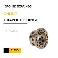 China EN Copper Alloy Bearing | CuZn25Al6Fe3Mn3 Graphite Sleeve Brass Bushing for Chain Conveyors on sale
