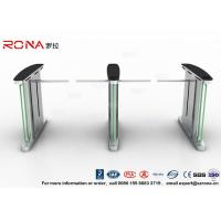 Best Access Control Electronic Barrier Gates , Turnstile Flap Barrier With CE Approved wholesale