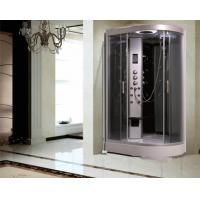 Cheap Large Quadrant Shower Cubicle Shower Corner Unit With Sector Shape Sitting for sale