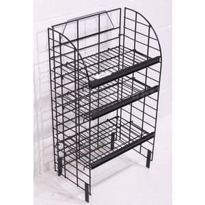 details of retail store unique wire storage rack shelving. Black Bedroom Furniture Sets. Home Design Ideas