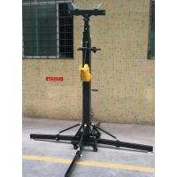 Best Crank Handle Heavy Duty Light Stand / Speaker Truss Lift Stand Telescopic Lifting Tower wholesale