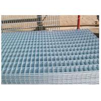 Best Thick Coating Square Flat Galvanized Sheets , Welded Wire Mesh Panels 1 X 2 wholesale