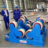 China welding rollers ,turnign rollers  PU wheels for stainless steel vessel /tank on sale