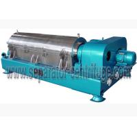 Best 2 Phase Liquid Solid Starch Dewatering Processing Wastewater Treatment Decanter Centrifuge Machine wholesale