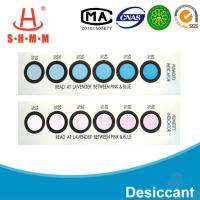 Best DMF Free Six Dots Blue To Pink Humidity  Indicator Card For  Packages of  Electronics wholesale