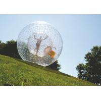Best Hot Air Welded Inflatable Hamster Ball Plato PVC Tarpaulin EN71 Certificated wholesale