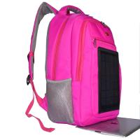 Best 3.5W Nylon Backpacking Solar Charger , 6V Womens Backpack With Built In Charger wholesale