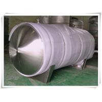 Best Food Grade Stainless Steel Compressed Air Holding Tank , Stainless Steel Storage Tanks wholesale