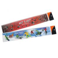 Cheap Custimized PET Material 3D Stationery Lenticular Ruler With LOGO Printing For School & Office Supplis for sale