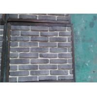 Best OEM Solid SurfaceFaux Exterior Brick With Rustic Color Enviromentall Friendly wholesale