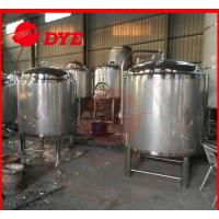 Best DYE Chemical Stainless Steel Hot Water Storage Tanks For Breweries wholesale