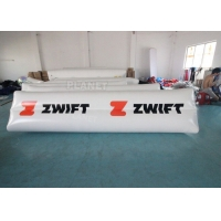 Buy cheap 0.9mm PVC Tarpaulin Floating Triathlon Swim Marker Inflatable Long Tube Cylinder from wholesalers