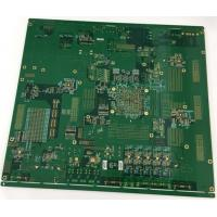 Best 4 layers Rogers + FR4 PCB with gold plating edge and vias in plating wholesale