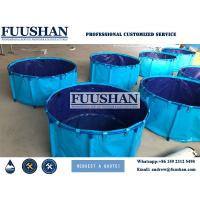 Best 1500L 2000L Plastic PVC Fish Farming Tank Sell to Philippines wholesale