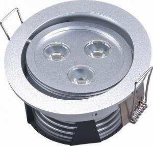 Best 50Hz / 60Hz 3W 50000h ROHS Eco-friendly Safe High Brightness Led Recessed Ceiling Lights wholesale