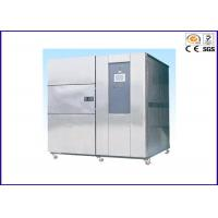 380V 50HZ Thermal Shock Test Chamber , Environmental Thermal Testing Equipment