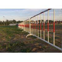 Best Crowd Control Barriers I Hot Galvanized Steel Construction Barricades wholesale